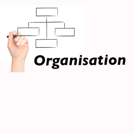 Illustrative image showing a organisation scheme.